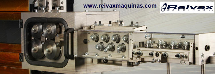 Reivax Machines Factory of machines for the manufacture of wire parts. Breda - Barcelona - Girona - Spain - Spain