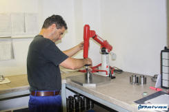Reivax Maquinas Verificacion de piezas previas al motaje a un maquina
