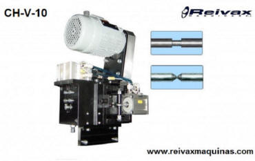 Head to make bezels and regattas in the middle of the wire rod. Model CH-V-10. Reivax Maquinas.
