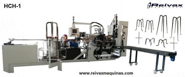 Máquina para fabricar sillas de encofrado modelo HCH-1. Reivax Maquinas