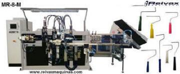 Máquina para fabricar Rodillos de pintar. MR-8 de Reivax Maquinas.