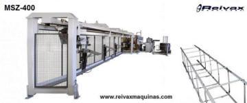 Máquina para fabricar pilares para la construcción. MSZ-400 de Reivax Maquinas.