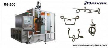 Máquina CN para doblar alambre - Dobladora - 14 Axis. R6-200 de Reivax Maquinas
