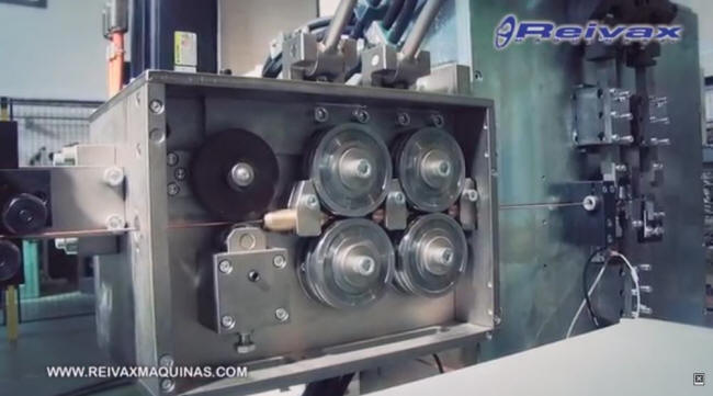 Sistema de alimentación de alambre - Cajas de arrastre. ACN-8 de Reivax Maquinas.