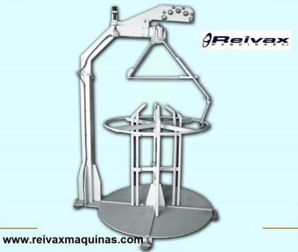 Devanadoras estáticas para rollo de alambre. DVE-1000 de Reivax Maquinas.