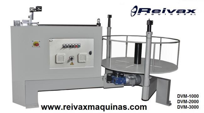 Devanadoras motorizadas para rollo de alambre. DVM-1000 de Reivax Maquinas.