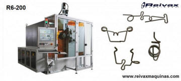 CN Wire bending machine - Bender with 14 axis. R&-200 from Reivax Machines