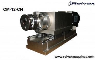 s y muelles en la varilla de alambre. Modelo CM-12-CN de Reivax Máquinas.