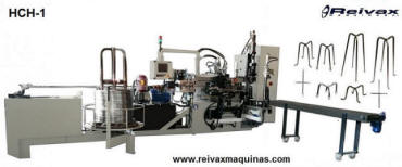 Máquina para fabricar: Armazones para la construcción -  'Sillas de encofrado'. Modelo HCH-1 de  Reivax Maquinas.