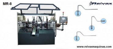 MR-8 Máquina fabricar: Rodillos de pintar. Reivax Maquinas