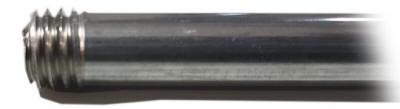 Terminación en punta rodillo de pintar Reivax Maquinas - Rosca por laminacion