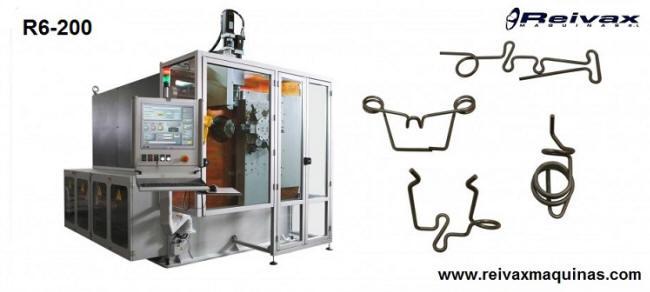 R6-200 Máquina CN fabricar: Piezas de alambre 3D Reivax Maquinas