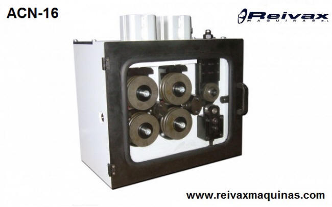 CN wire feeder / Drag box. Ø 5 to 16 mm. Model ACN-16. Reivax Maquinas.